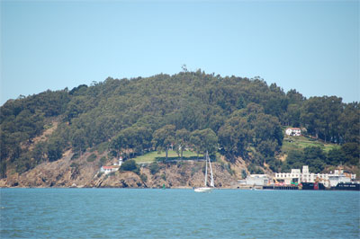 Lighthouse on Yerba Buena Island